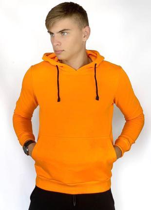 Худи оранжевый