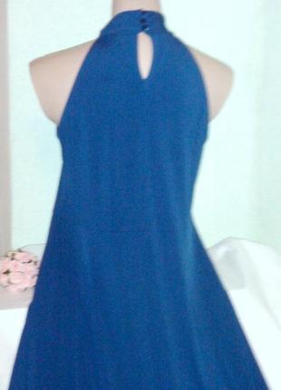 Платье цвета морской волны-масло,46-48разм,anna field,пог-50-5...
