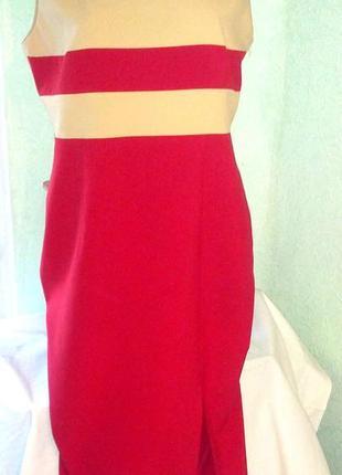 Нарядно-повседневное платье на высокую девушку,50-54р.,пог-53см
