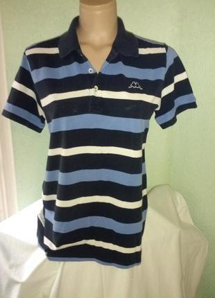 Брендовая тениска поло,44-46р.,карра,пог-52см,индия.