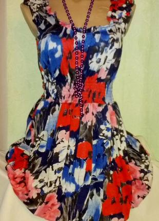 Платье с юбкой-колокольчик,44-45разм.,vero moda