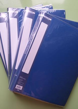 Пластиковая папка-скоросшиватель Buromax набор 5 шт.