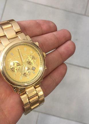 Наручные часы Michael Kors 1038 Gold Наручний годинник, часи