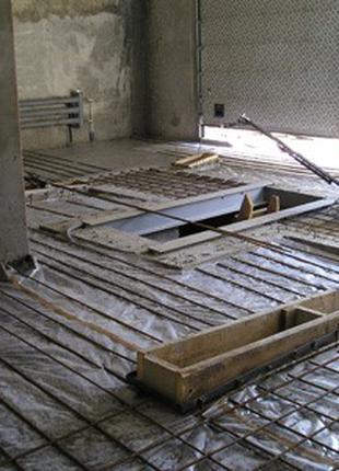 Бетонні роботи. Промислова підлога. Бетонування майданчиків