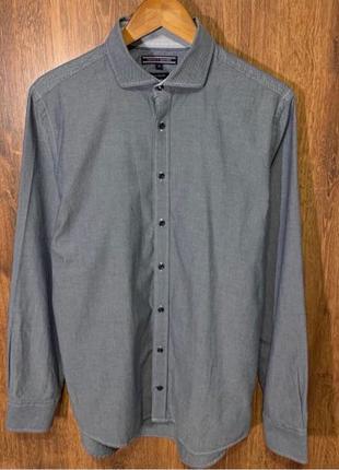 TOMMY HILFIGER size M. рубашка.