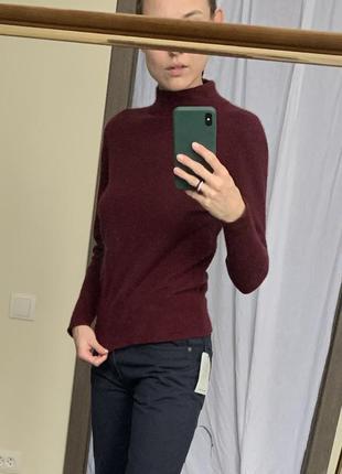Ангора кофта гольф свитер кофточка ангорка свитерок