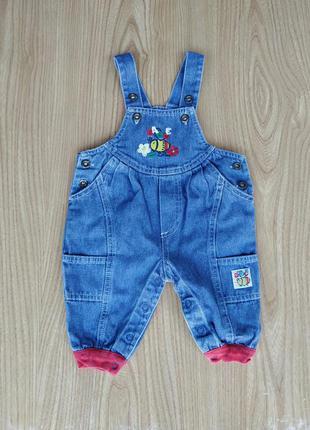 Детские джинсовые штаны baby club