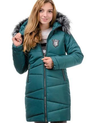 Зимняя парка,пальто,пуховик молодежный