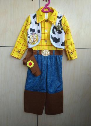 Карнавальный костюм ковбой disney на 3-4 года