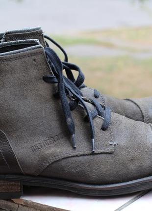 Ожаные ботинки tommy hilfiger