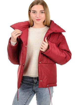 Зимний женский,короткий пуховик,курточка-дутик.