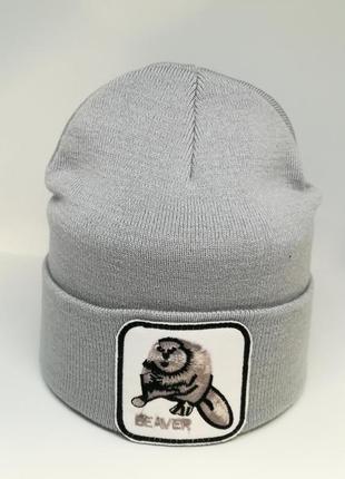 Шапка beaver