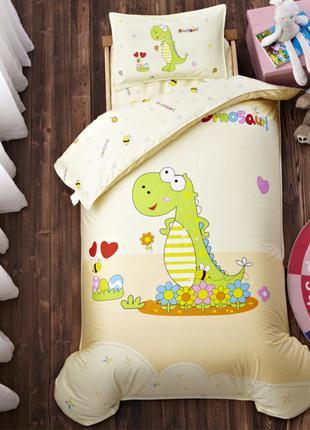 Детское постельное белье в кроватку/в садик 3d дракончик (от 0...