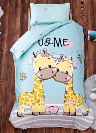 Комплект постельного 3d жираф (от 0 до 5 лет!!!) - в кроватку ...