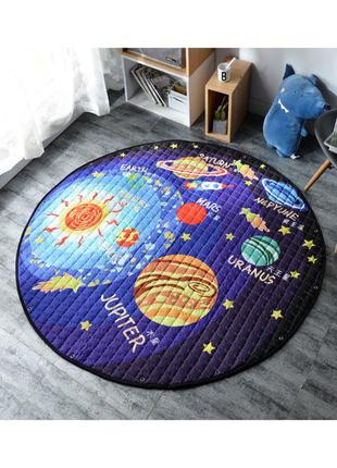 Дитячий килимок 2в1: ігровий коврик і сумка-органайзер для ігр...