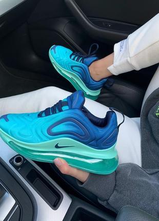 Кросівки nike air max 720 blue