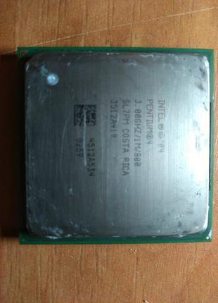 Процессор intel pentium 4 под сокет mPGA478B