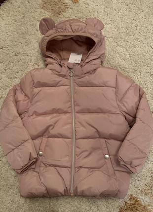 Демисезонная куртка на девочку h&m