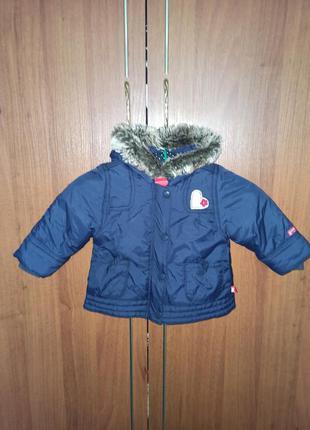 Куртка на девочку осень, весна. размер 68 см 6 месяцев.