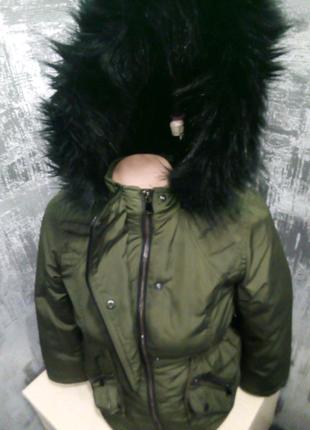Куртка парка 8-10 лет