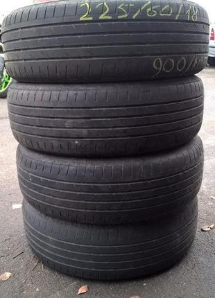 650грн/комплект 225/60 R18 Bridgestone Dueler H/P