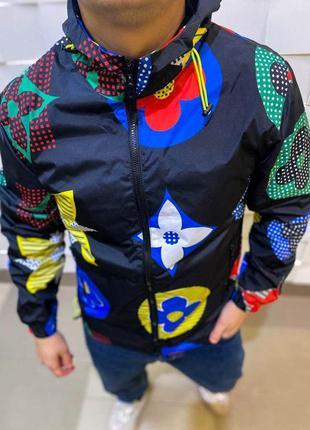 Ветровка мужская с принтом / куртка чоловіча вітровка курточка...