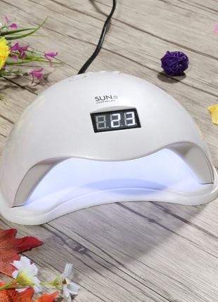 Лампа для маникюра и педикюра Sun 5 на 48 Ватт — UV + LED.