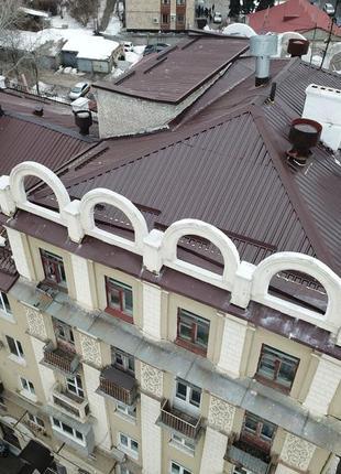Ремонт крыш, новое строительство, монтаж металлоконструкций.