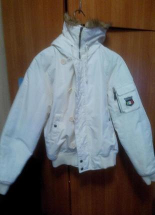 Мужская короткая зимняя куртка (с капюшоном) RAMS 23