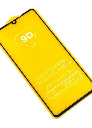 Защитное стекло 9D Huawei Honor P30 Black (тех. упаковка)