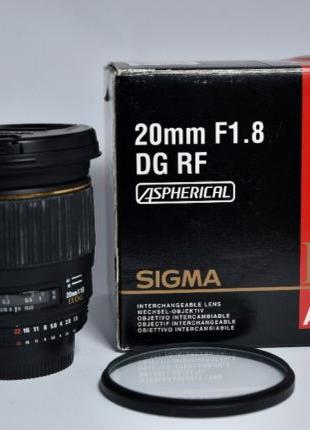 Sigma 20mm 1.8 EX DG for Nikon