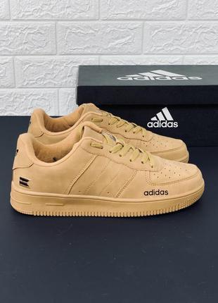 Adidas кеды кроссовки рыжие коричневые кросовки адидас кросівк...