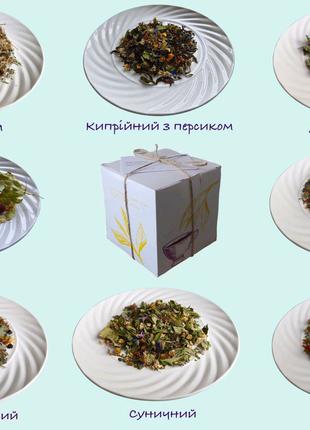 Натуральний трав'яний чай, лікувальні  трави