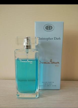 Парфюмированная вода dominikana blue от christopher dark