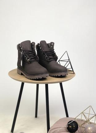 💠timberland brown💠зимние женские/мужские кожаные ботинки тимбе...