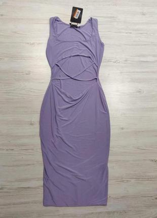 Ликвидация товара 🔥   очень красивое платье миди с вырезом на ...