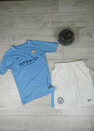 Тренировочная футбольная форма nike fc manchester city