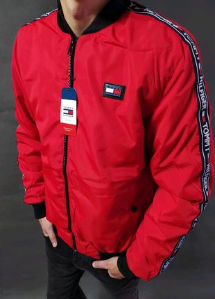 Чоловіча вітровка бомбер курточка на весну мужская курточка
