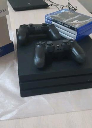 Распродажа sony PlayStation PS4 pro 1tb