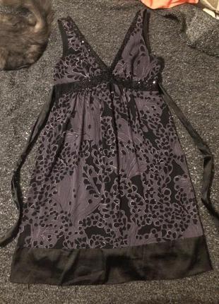 New look платье сарафан сукня с пайетками