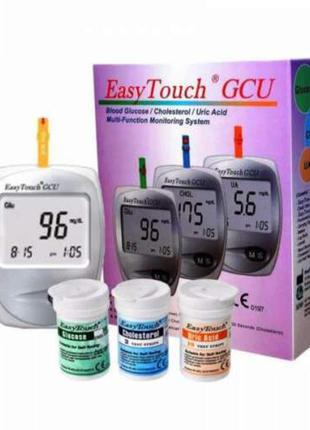 Анализатор EasyTouch GCU (холестерин, мочевая кислота, глюкоза)