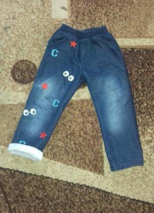 Осене зимнии джинсы