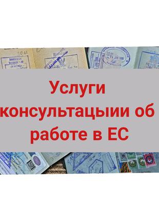 Консультация об: работа в ЕС, ЧЕХИЯ, виза