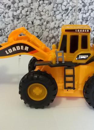 Грейдер трактор с ковшем игрушка