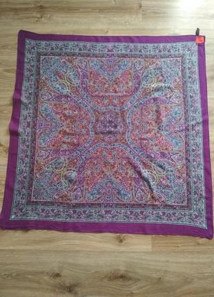 Erfurt хлопковый шарф платок с принтом пейсли