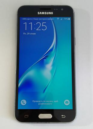 Смартфон Samsung Galaxy J3 2016 Duos (SM-J320) Black Б/В