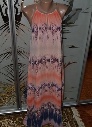 Сарафан в пол платье длинное