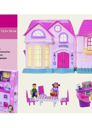 Кукольный домик 16428 с мебелью