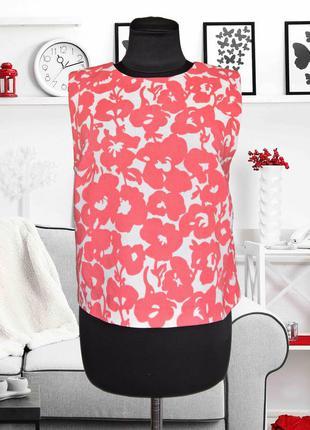 Блуза топ с цветочным принтом oasis