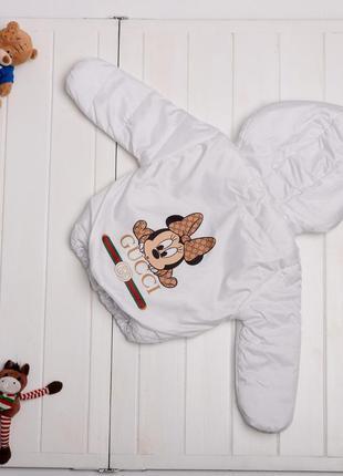 Детская демисезонная куртка курточка для девочки белая